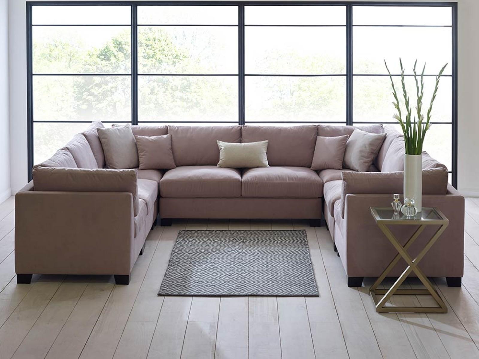 Sofa Set Inside Blue U Shaped Sectionals (View 6 of 15)