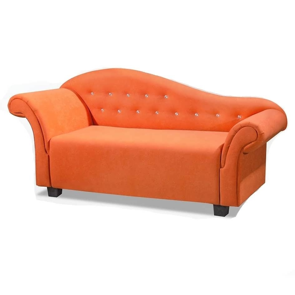 Sofa : Sofa Covers Settee Sofa Futon Sofa Chaise Lounge Sofa Within Most Popular Orange Chaise Lounges (View 12 of 15)