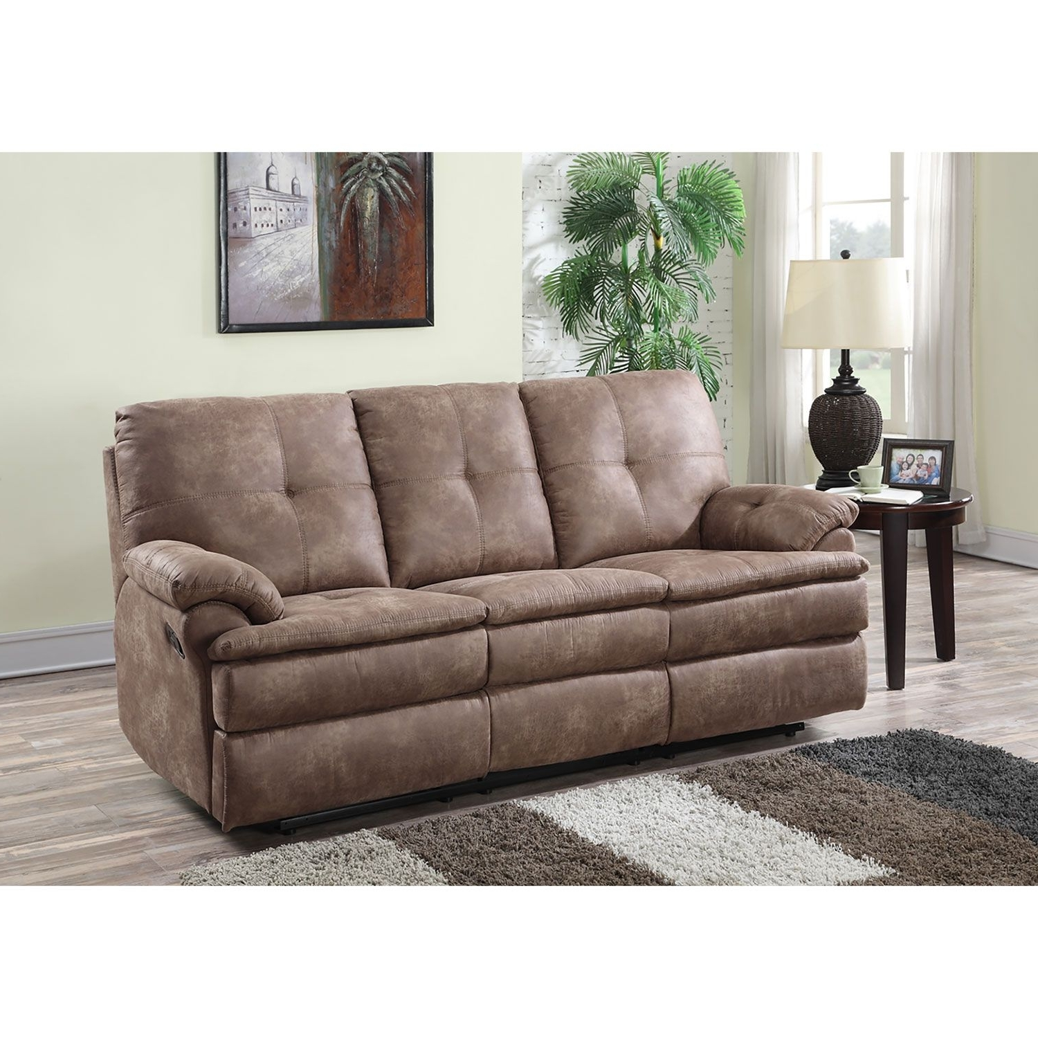 Sofa : Two Seater Fabric Recliner Sofa Fabric Reclining Sofa And For Best And Newest Sectional Sofas At Sam's Club (View 15 of 15)