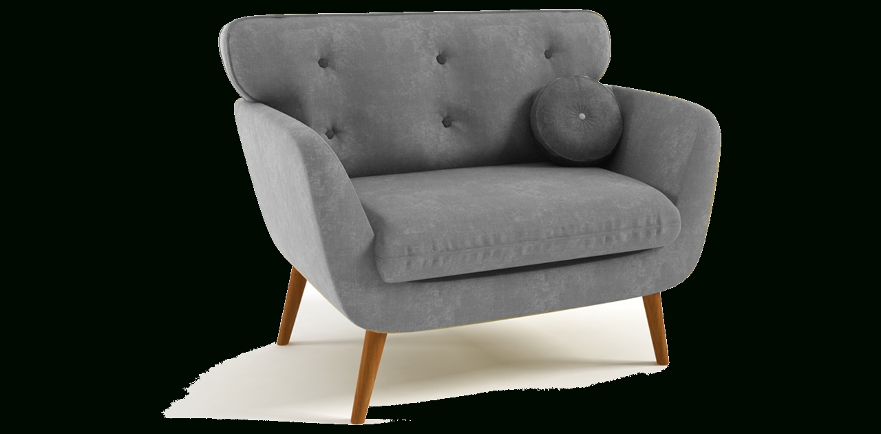 Sofa With Chairs Intended For Trendy Armchair : Antique Armchair Styles Manhattan Leather Sofa Gray (View 11 of 15)