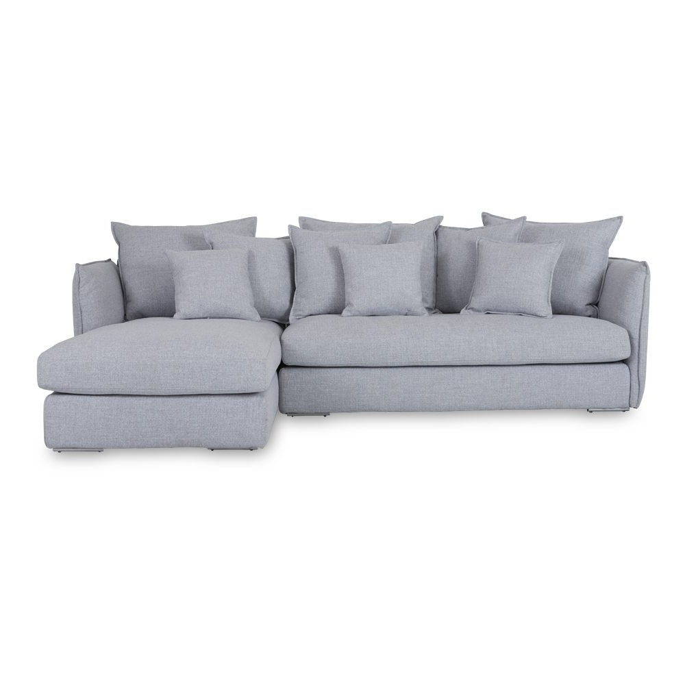 Sofa ~ Wonderful Lounge Sofa Lisa Grey Chaise Sofa Front Lounge Inside Best And Newest Grey Chaise Sofas (View 14 of 15)