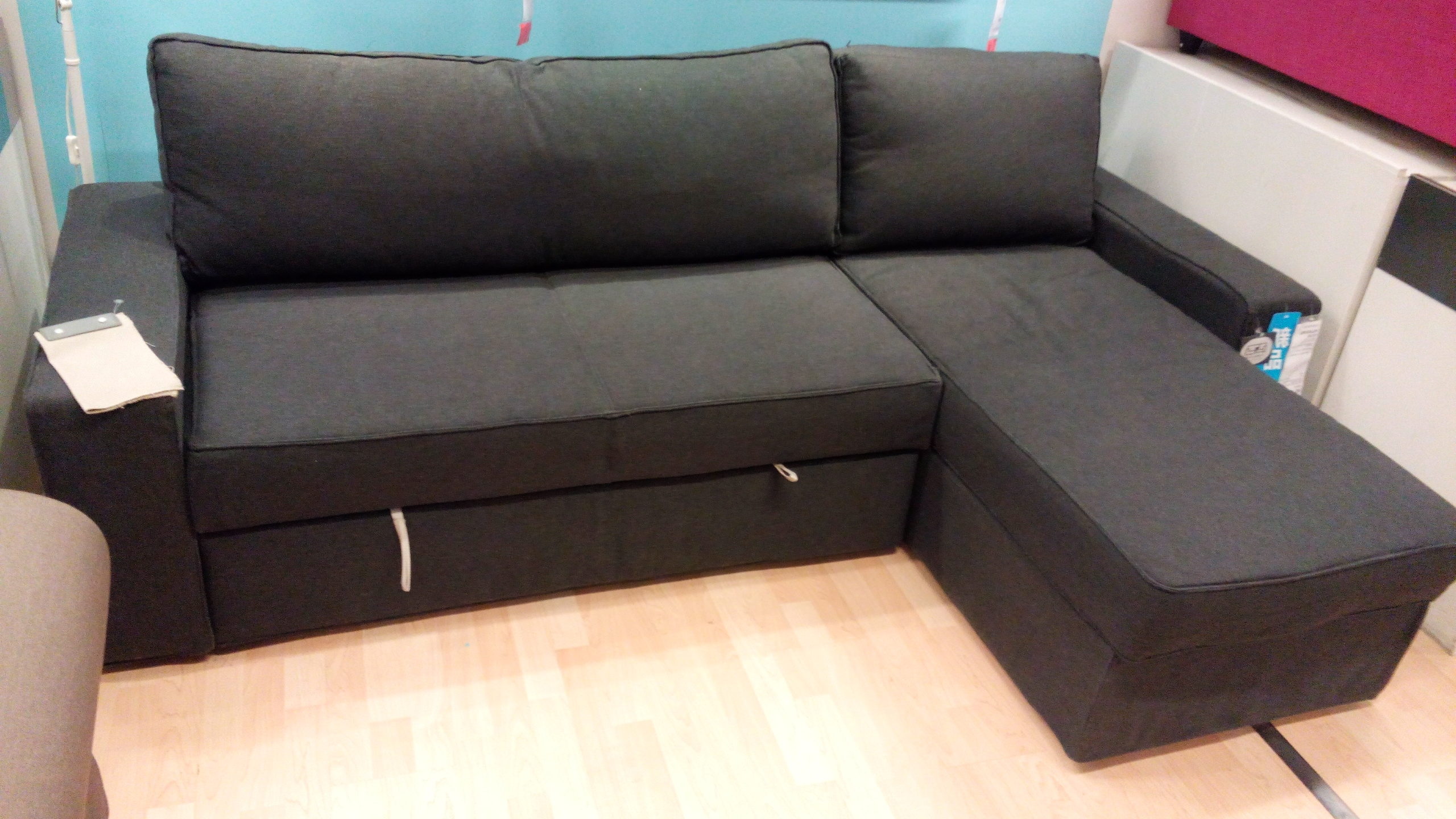 Sofabeds With Chaise With Most Up To Date Ikea Vilasund And Backabro Review – Return Of The Sofa Bed Clones! (View 6 of 15)