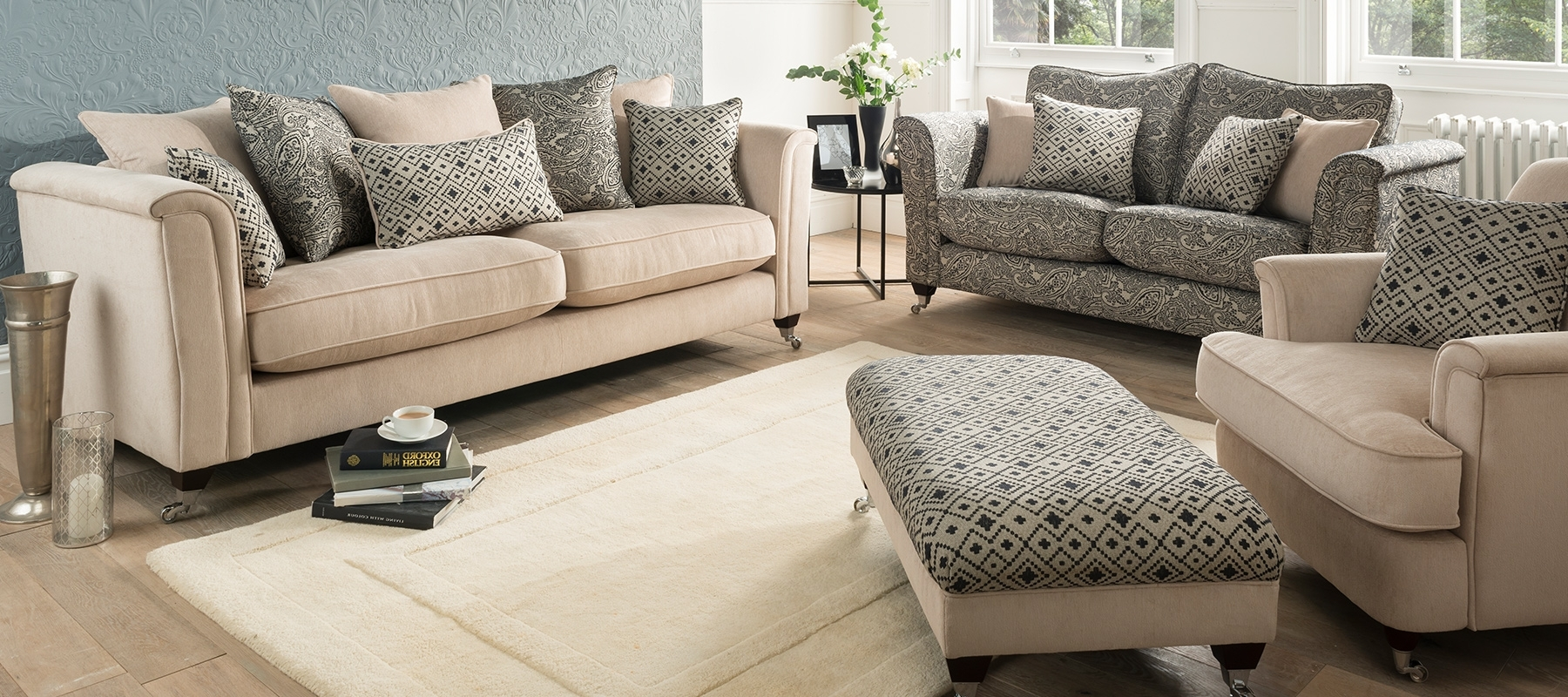 Sofas And Chairs Regarding Current Sofas & Chairs – Cosy Carpets (View 13 of 15)