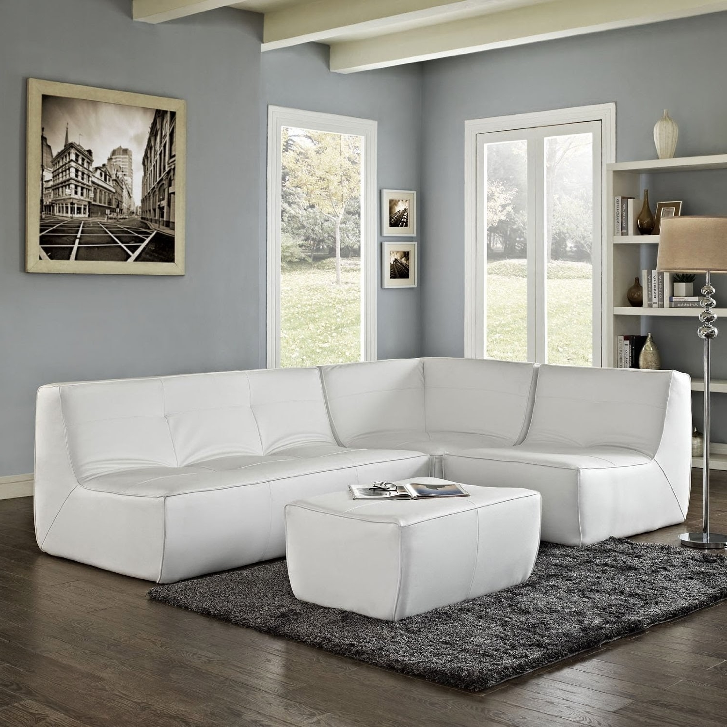 Sofas Awesome White Leather Loveseat Gray Sectional Sofa Canada With 2018 El Dorado Sectional Sofas (View 12 of 15)