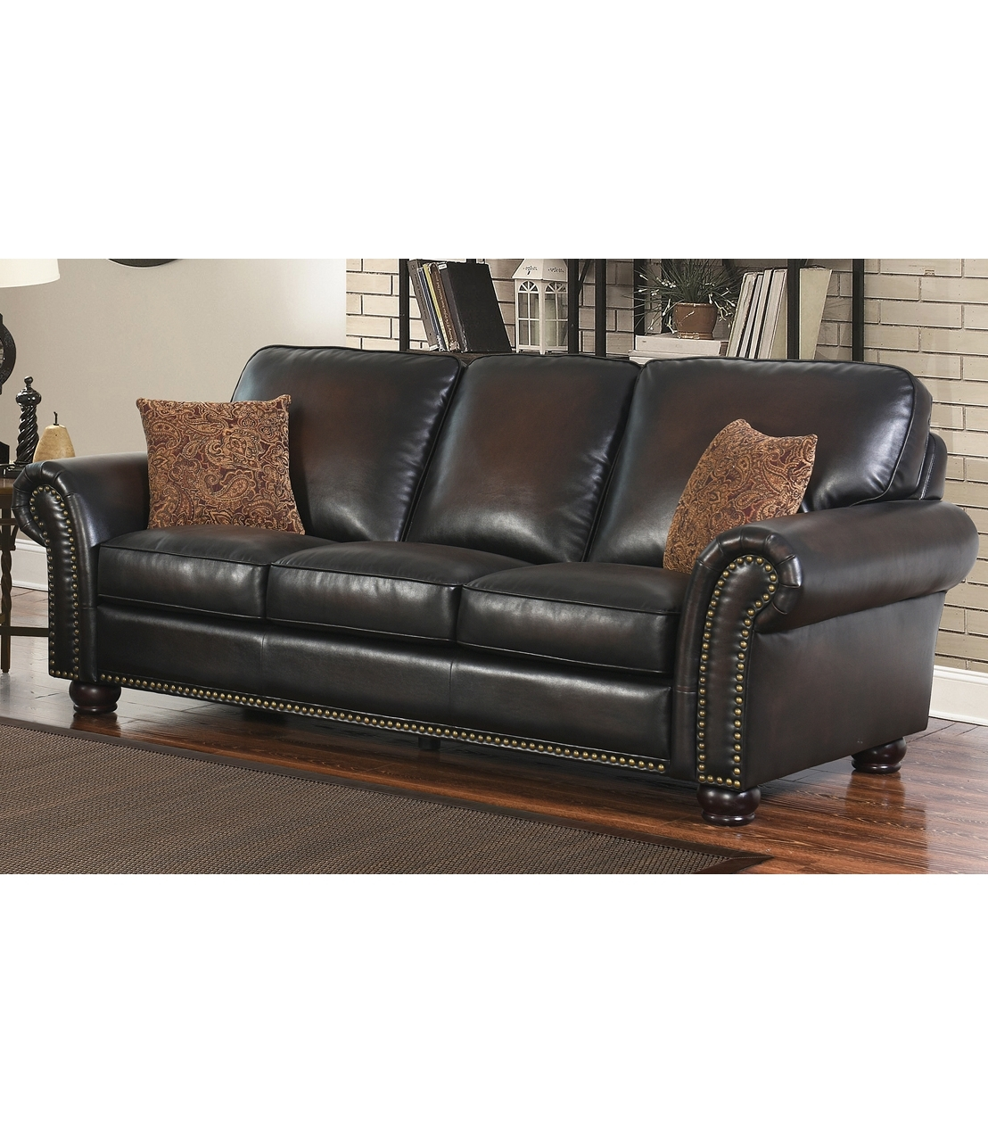 Sofas : Braxton Hand Rubbed Leather Sofa Regarding Widely Used Braxton Sofas (View 10 of 15)