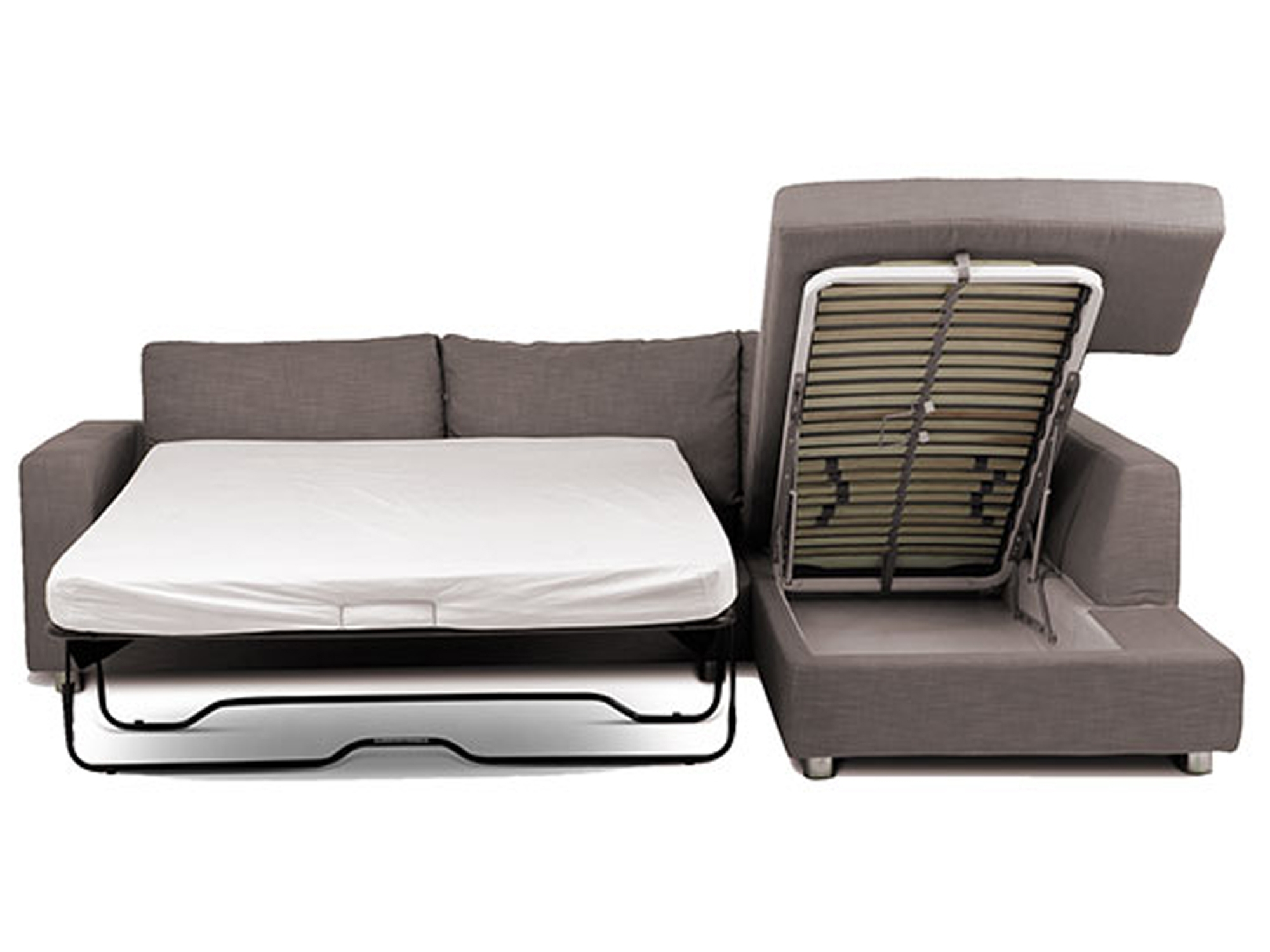 Sofas: Classic Meets Contemporary Chaise Sofa Bed For Ideal Living For Recent Chaise Lounge Mattress (View 10 of 15)