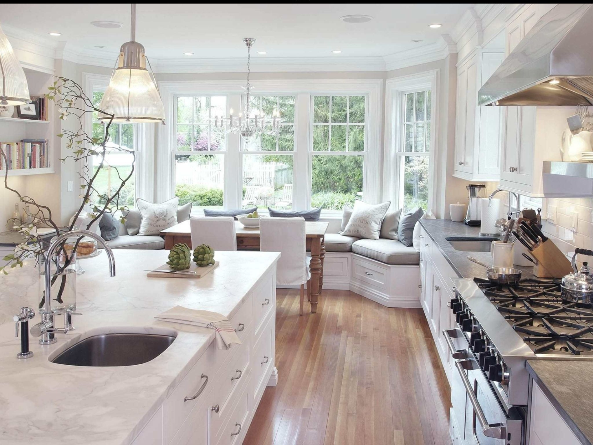 Sofas For Kitchen Diner For Trendy Built In Sofa In Kitchen/breakfast Diner (View 5 of 15)