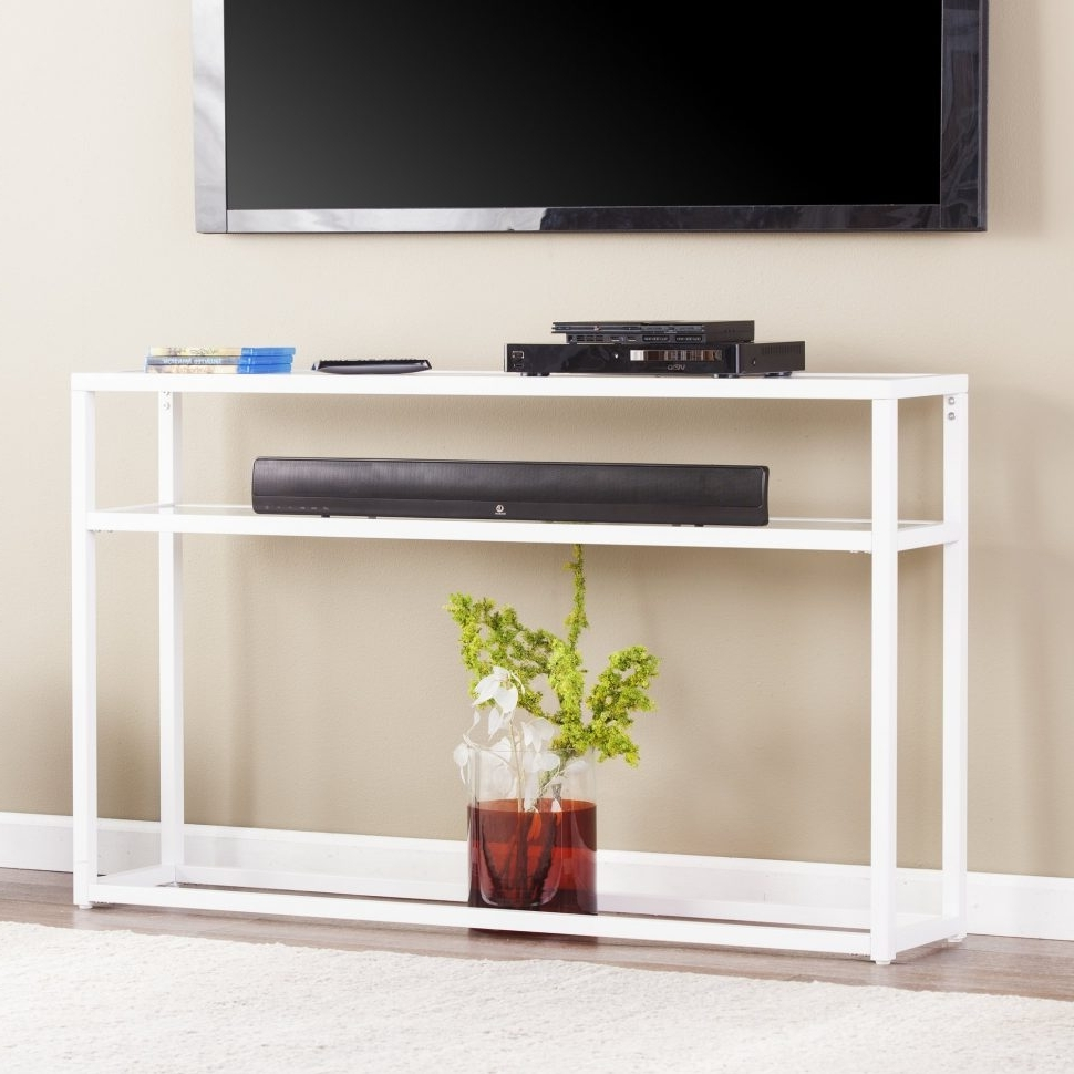 Sofas With Back Consoles Pertaining To Popular Sofa : Black Sofa Tables Cheap Curvedack Table With Storage (View 12 of 15)