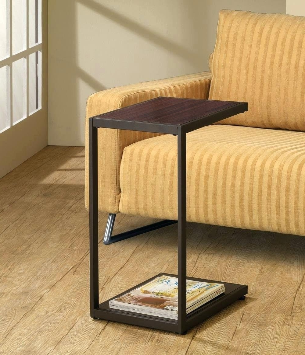 Sofas With Drink Tables For Popular Side Table ~ Side Drink Table Sofa Rooms Holder Side Drink Table (View 10 of 15)