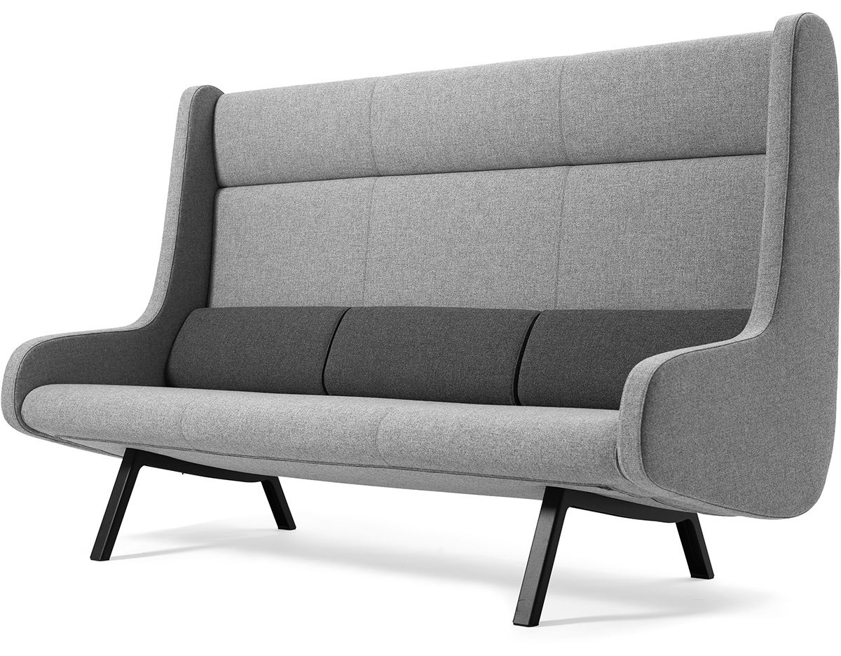 Sofas With High Backs In Well Known High Back Sectional Sofas – It Is Better To Opt For Leather Or Fabric? (View 3 of 15)