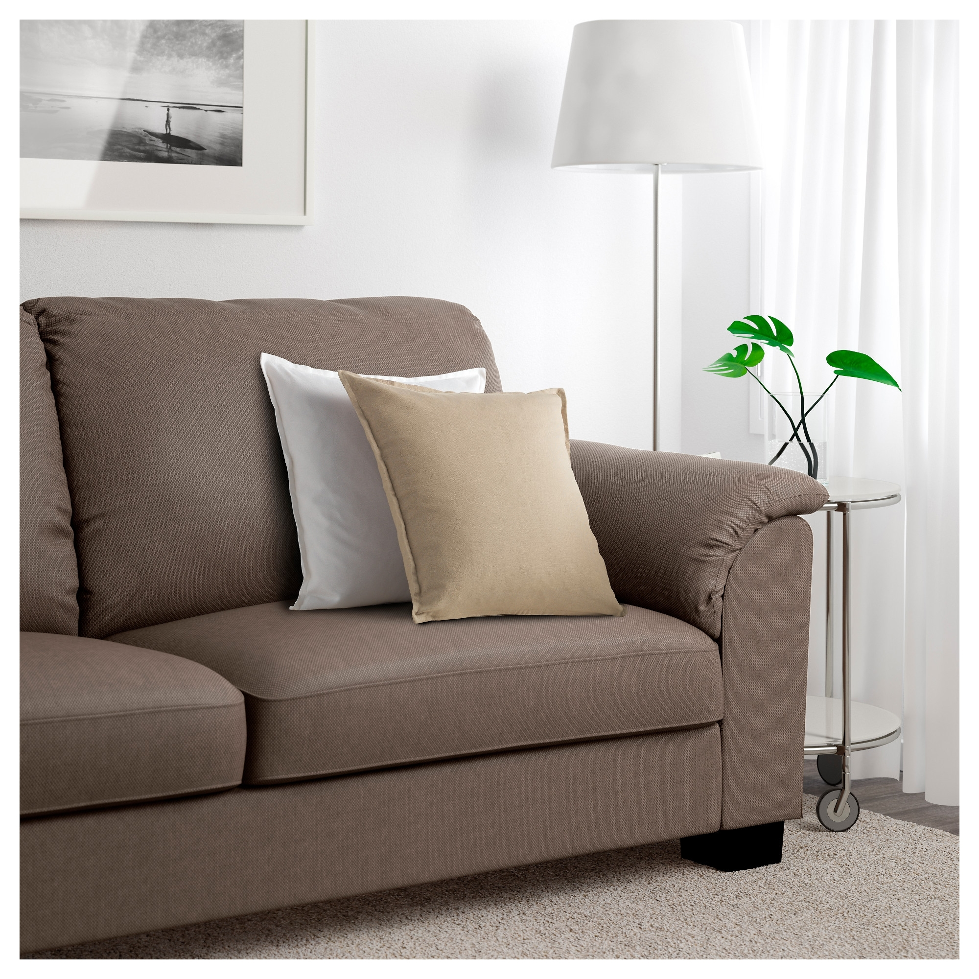 Sofas With High Backs With Regard To Current Tidafors Sofa – Hensta Gray – Ikea (View 10 of 15)