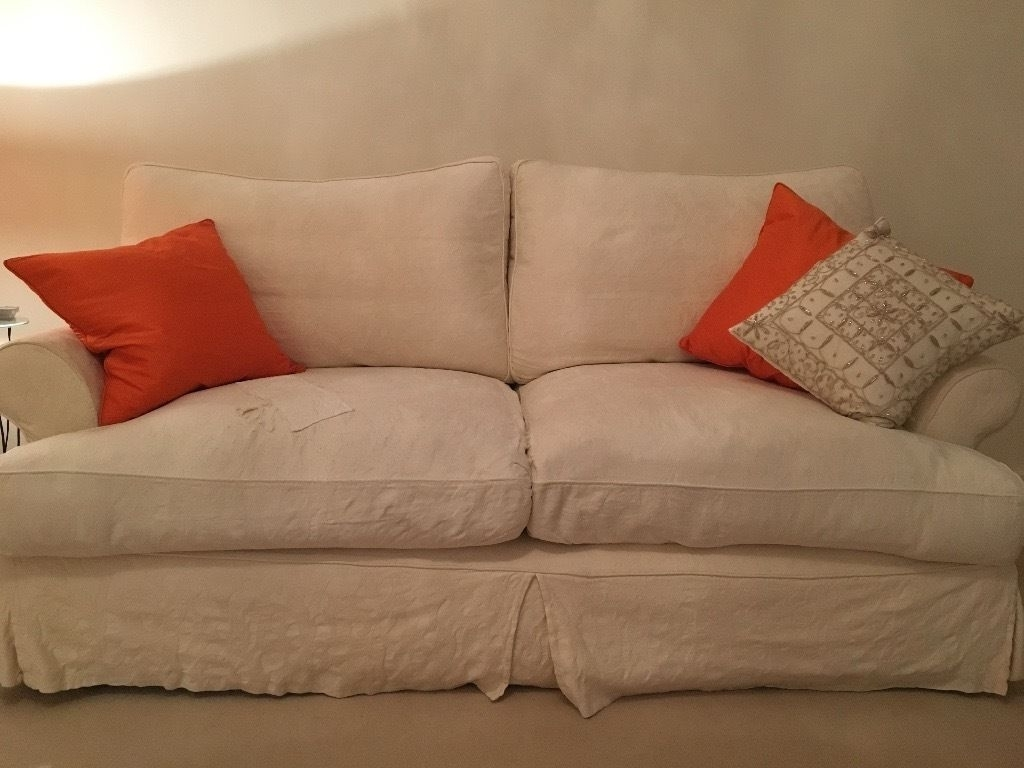 Sofas With Removable Covers In Well Known John Lewis Sofa Set  3 Seater & 2 Seater (View 15 of 15)