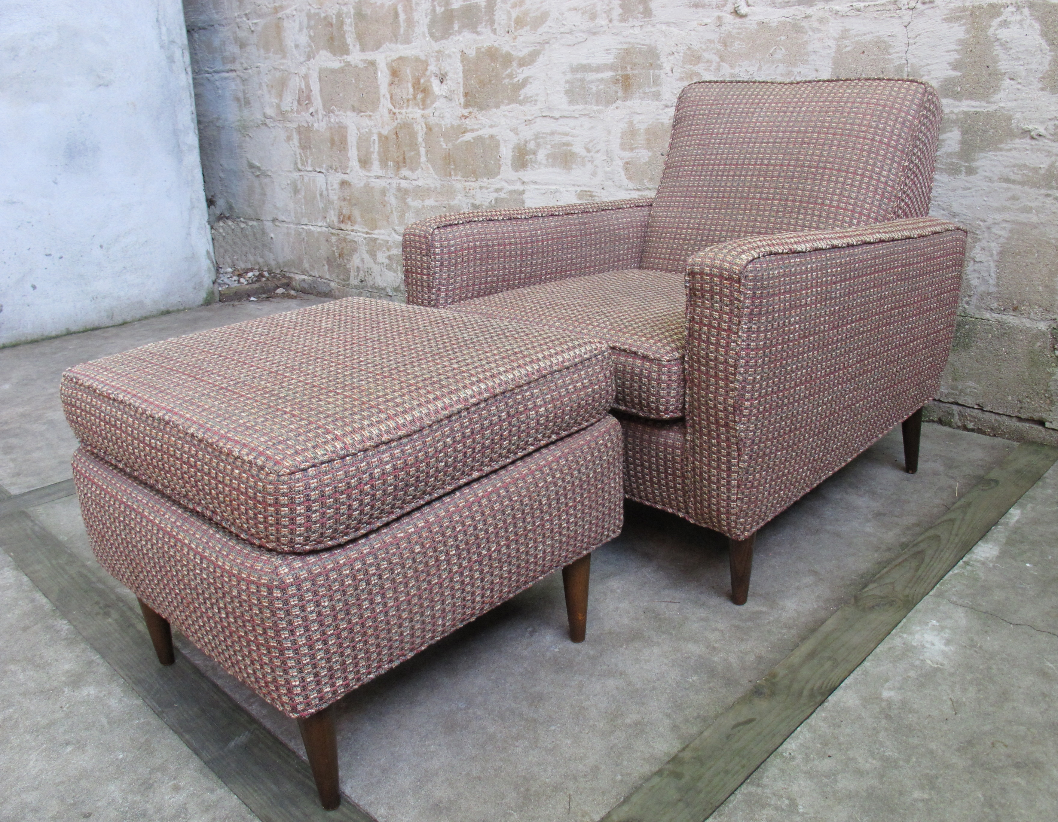 Sold Items Adverts Vintage Throughout Widely Used Chaise Lounge Chairs With Ottoman (View 6 of 15)