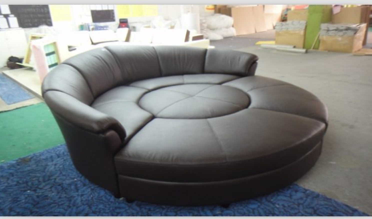 Spinning Sofa Chairs With Regard To Favorite Sofa : Round Spinning Sofa Chair Round Sofa Chair Dfs Giant Round (View 13 of 15)