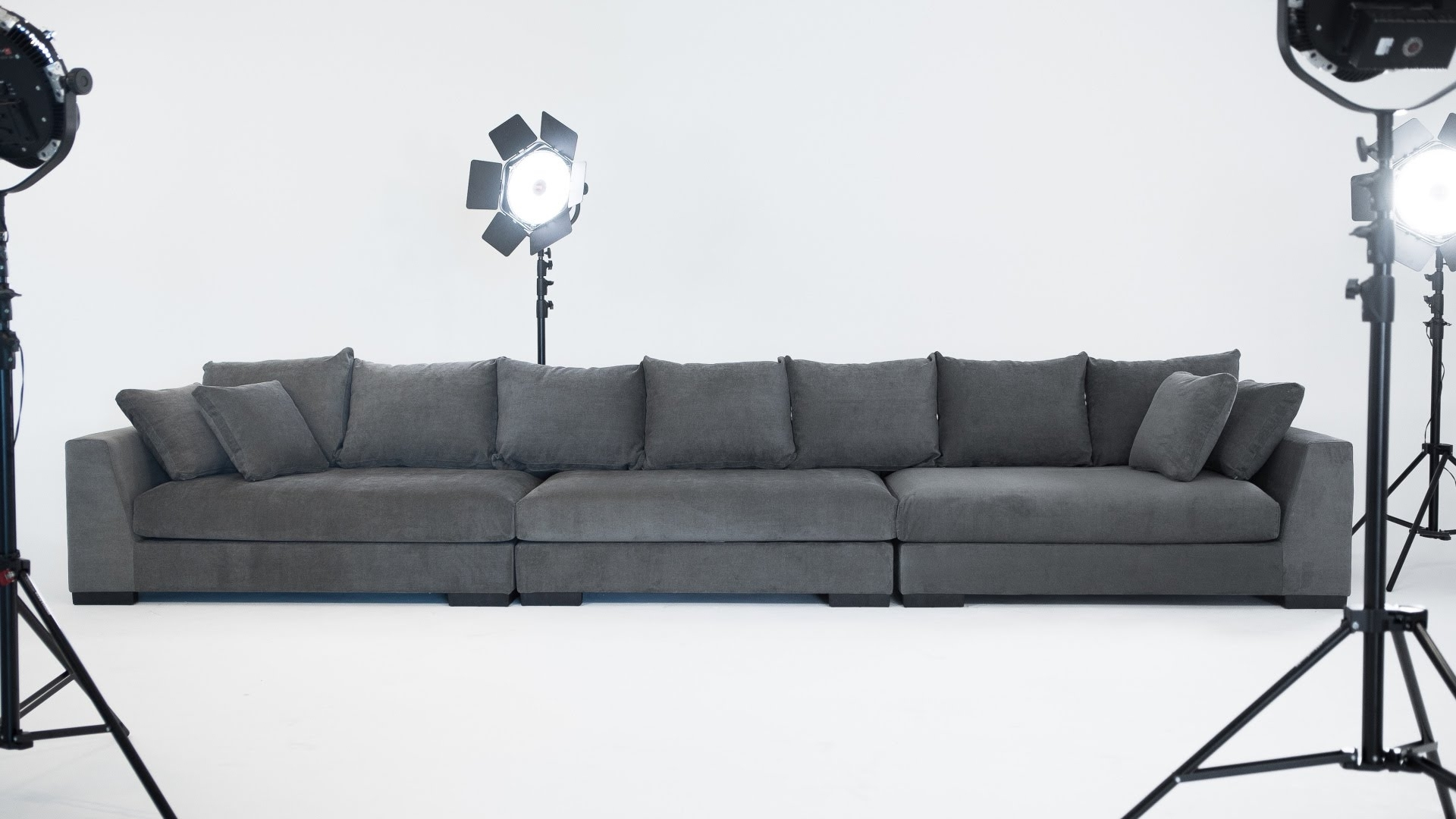 Structube Sectional Sofas Regarding Widely Used The Cooper Sectional Sofa – Structube – Youtube (View 3 of 15)