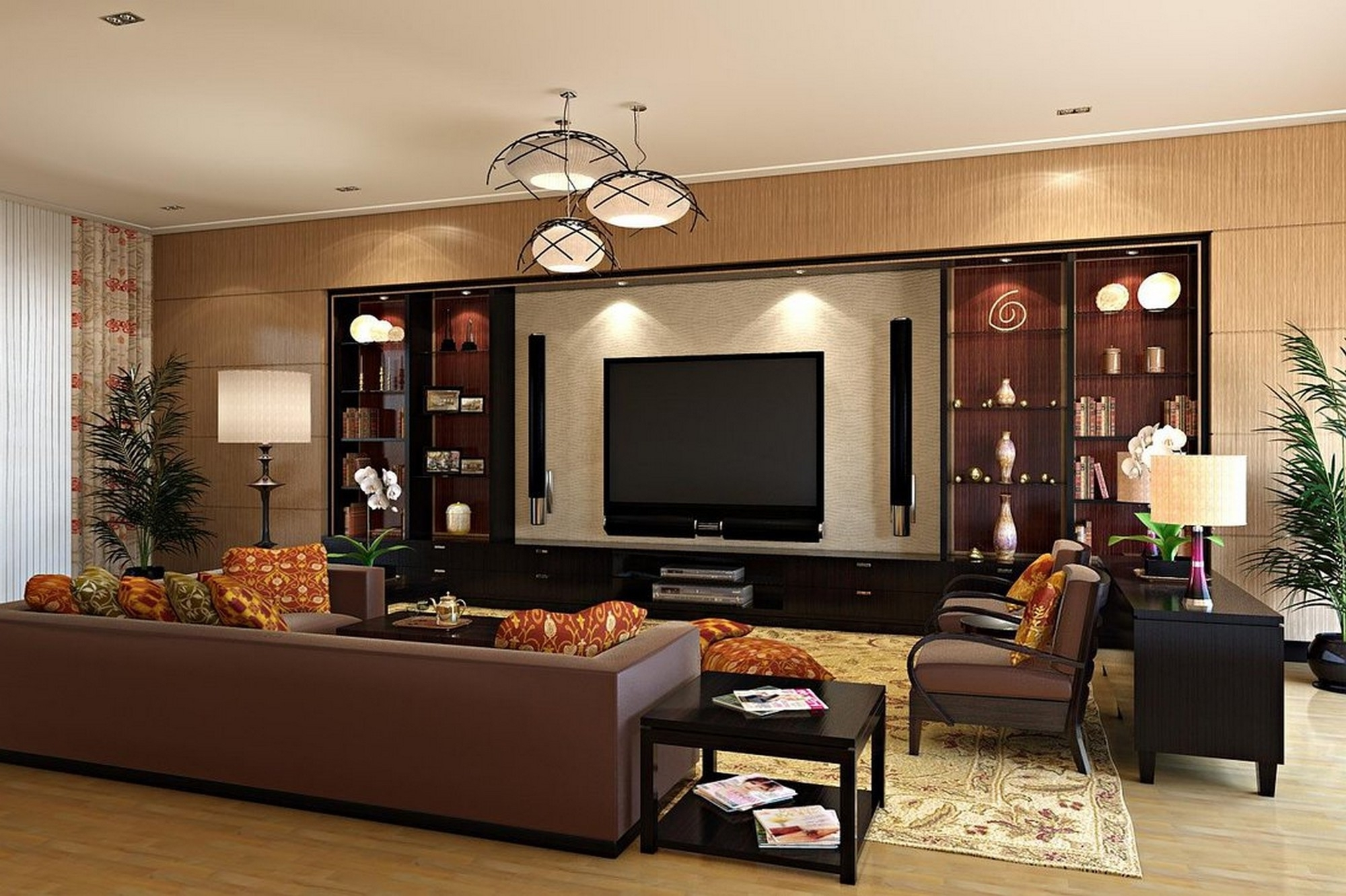 Stunning Decorating A Small Family Room Home Design Ideas Ampstate Pertaining To Latest Houzz Sectional Sofas (View 8 of 15)