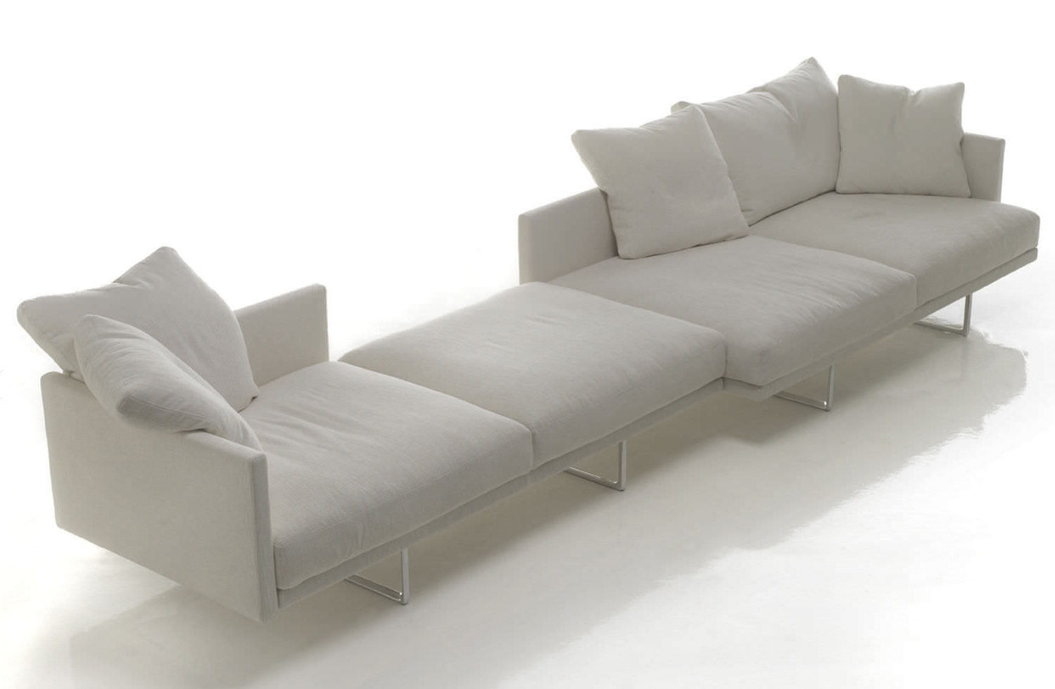 Stunning Design Ideas Of Modular Sofas For Small Spaces (View 11 of 15)