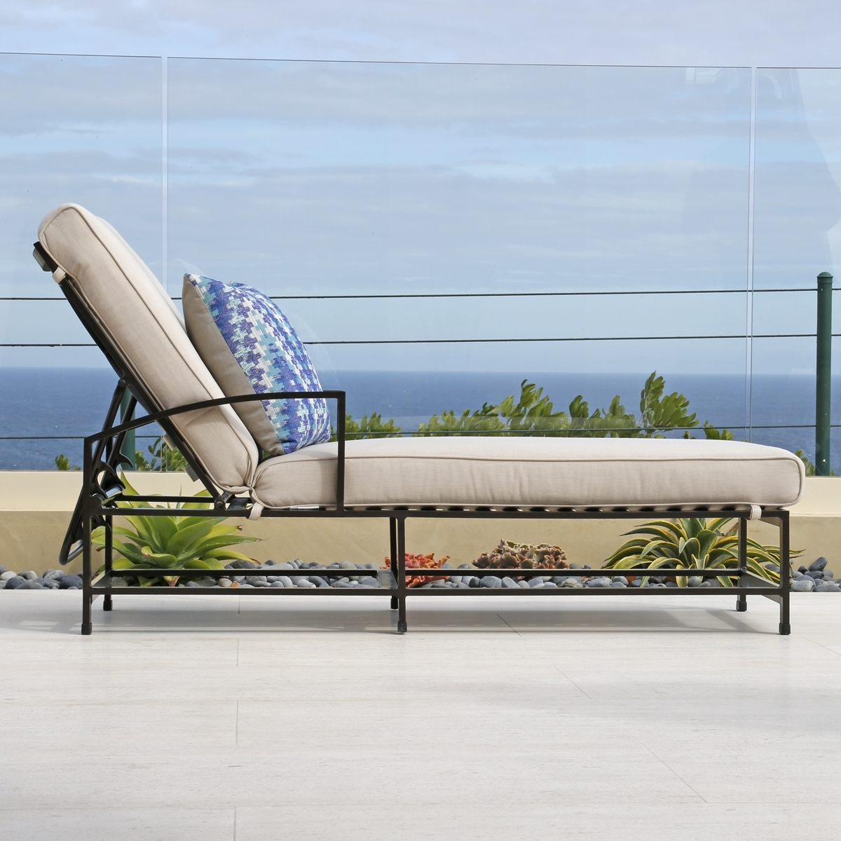 Sunbrella Chaise Cushions With Regard To Newest Chaise Cushion Replacement (View 13 of 15)
