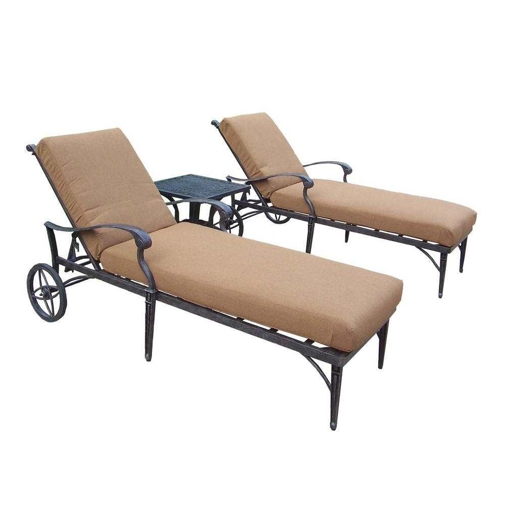 Sunbrella Fabric – Outdoor Chaise Lounges – Patio Chairs – The For Best And Newest Sunbrella Chaise Lounges (View 15 of 15)