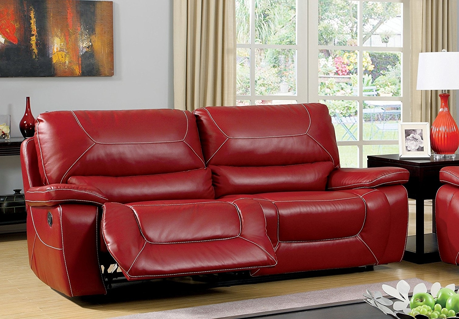 Super Red Leather Reclining Sofa And Loveseat 73 For Sofa Room With Trendy Red Leather Reclining Sofas And Loveseats (View 8 of 15)