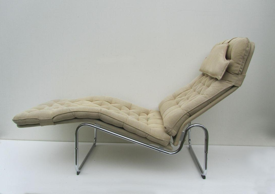 Swedish Kroken Lounge Chairschrister Blomquist For Ikea, 1970S Inside Most Up To Date Ikea Chaise Lounge Chairs (View 13 of 15)