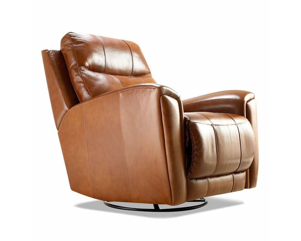 Swivel Sofa Chairs Within Well Liked Made Reclining Swivel Leather Chairs Clp (View 13 of 15)