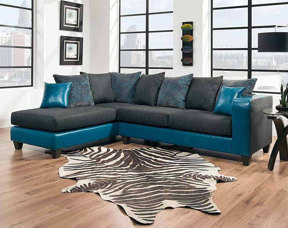 Tampa Sectional Sofas Intended For Popular Tampa Teal 2 Pc (View 14 of 15)