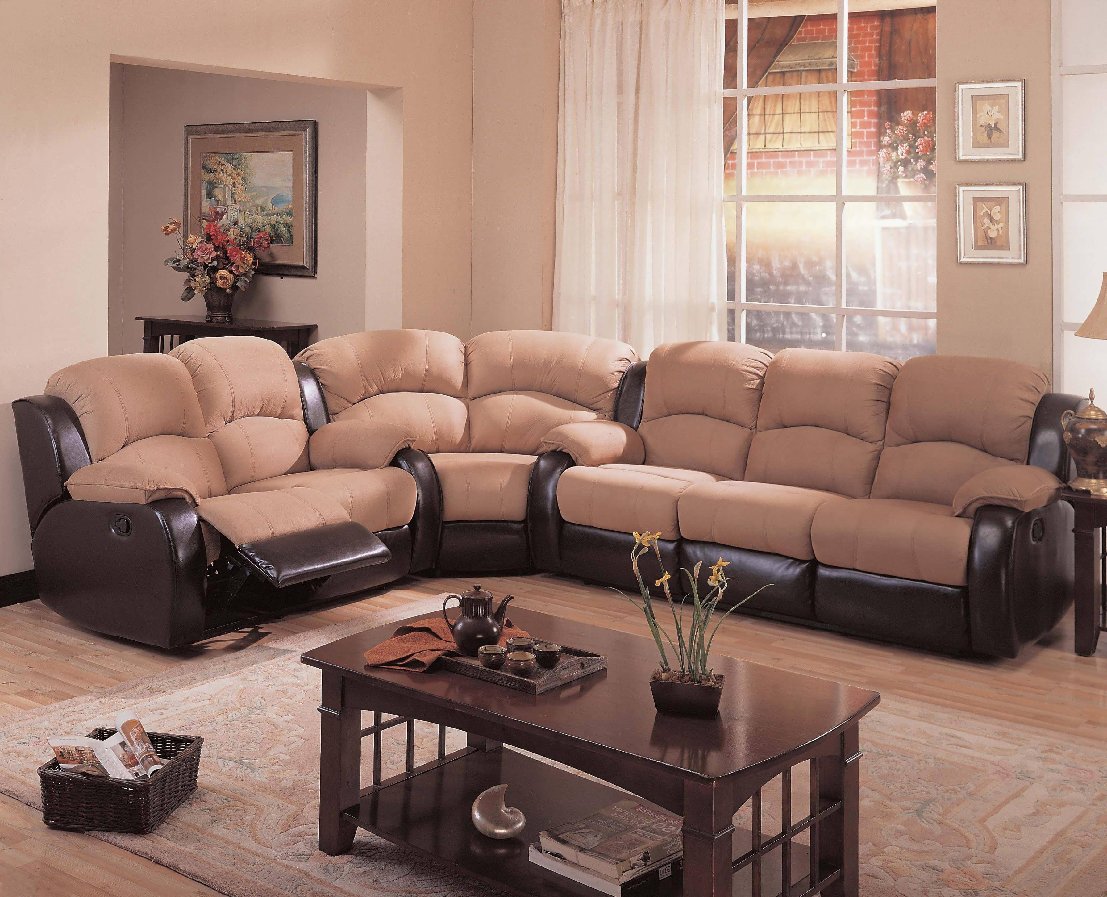 Tan Sectionals With Chaise In Most Up To Date Sofa : Sectionals For Small Spaces Tan Sectional With Chaise Cheap (View 10 of 15)
