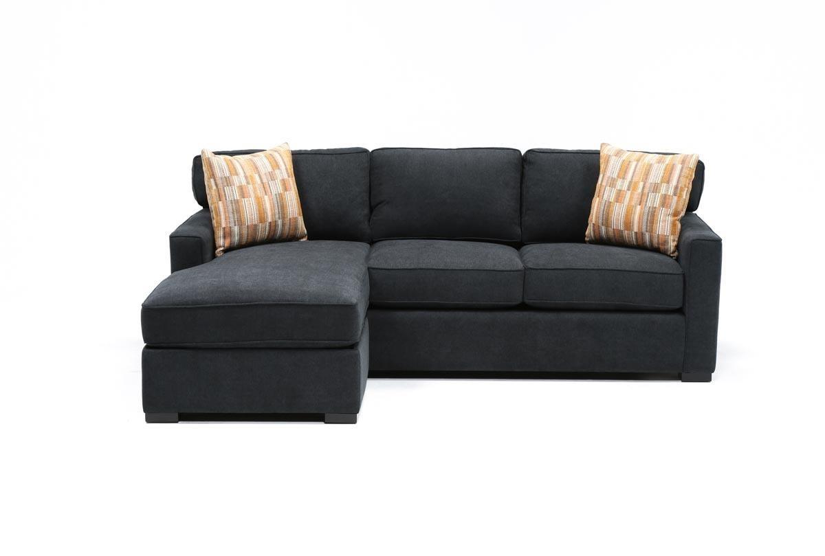 Taren Reversible Sofa/chaise Sleeper W/storage Ottoman (View 2 of 15)