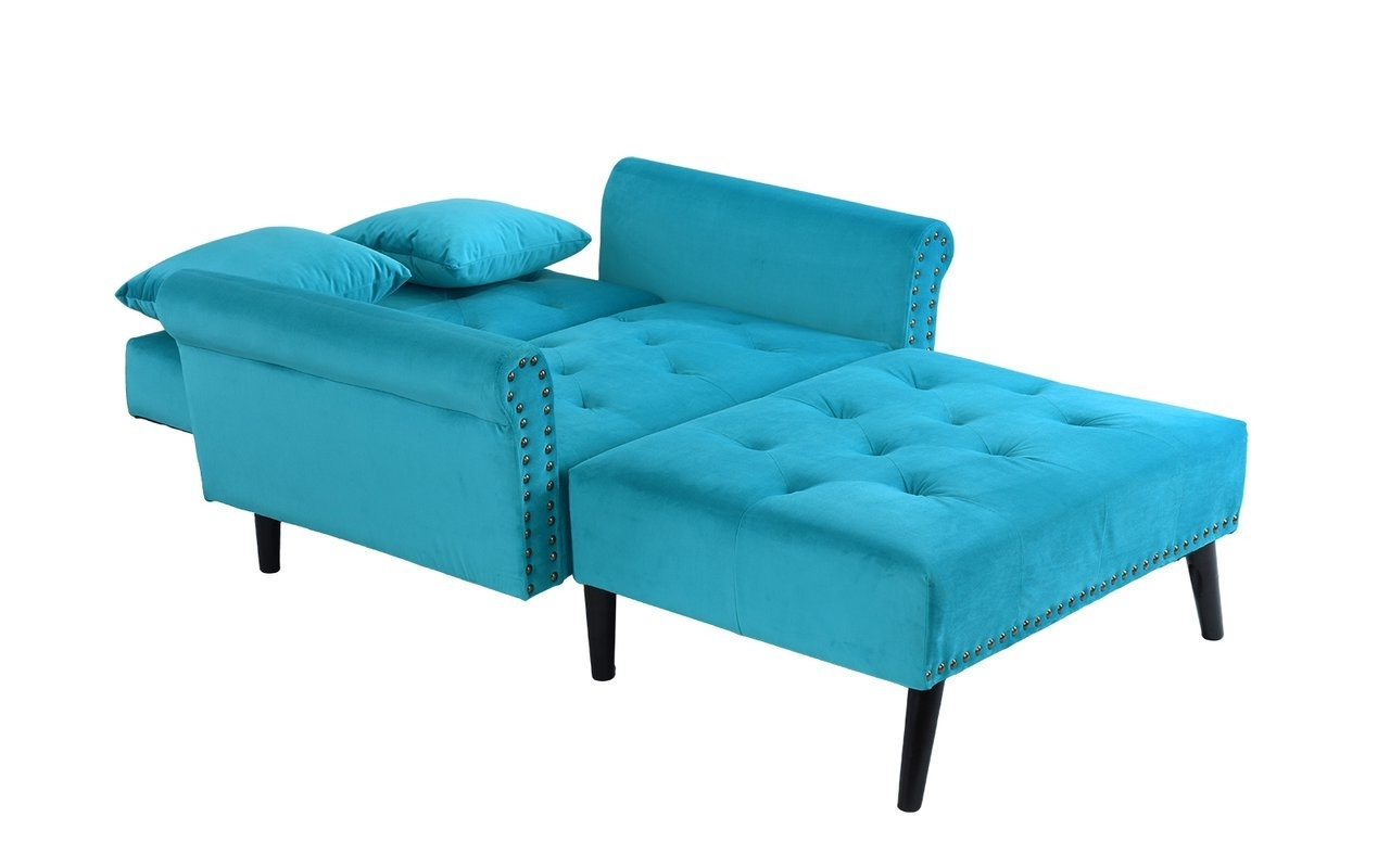 Teal Chaise Lounges With Regard To Current House Of Hampton Tilstone Chaise Lounge & Reviews (View 14 of 15)