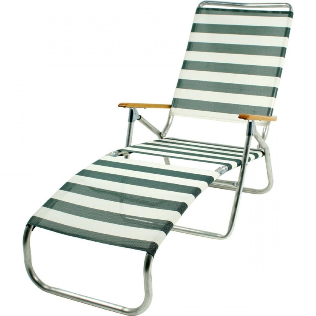 Telescope 821 Folding Chaise Lounge Beach Chair In Inspiration With Trendy Chaise Lounge Beach Chairs (View 1 of 15)
