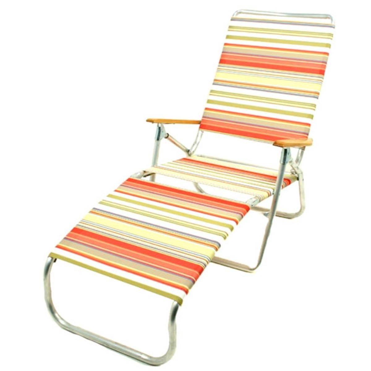 Telescope 821 Folding Chaise Lounge Beach Chair Throughout Trendy Beach Chaise Lounges (View 2 of 15)