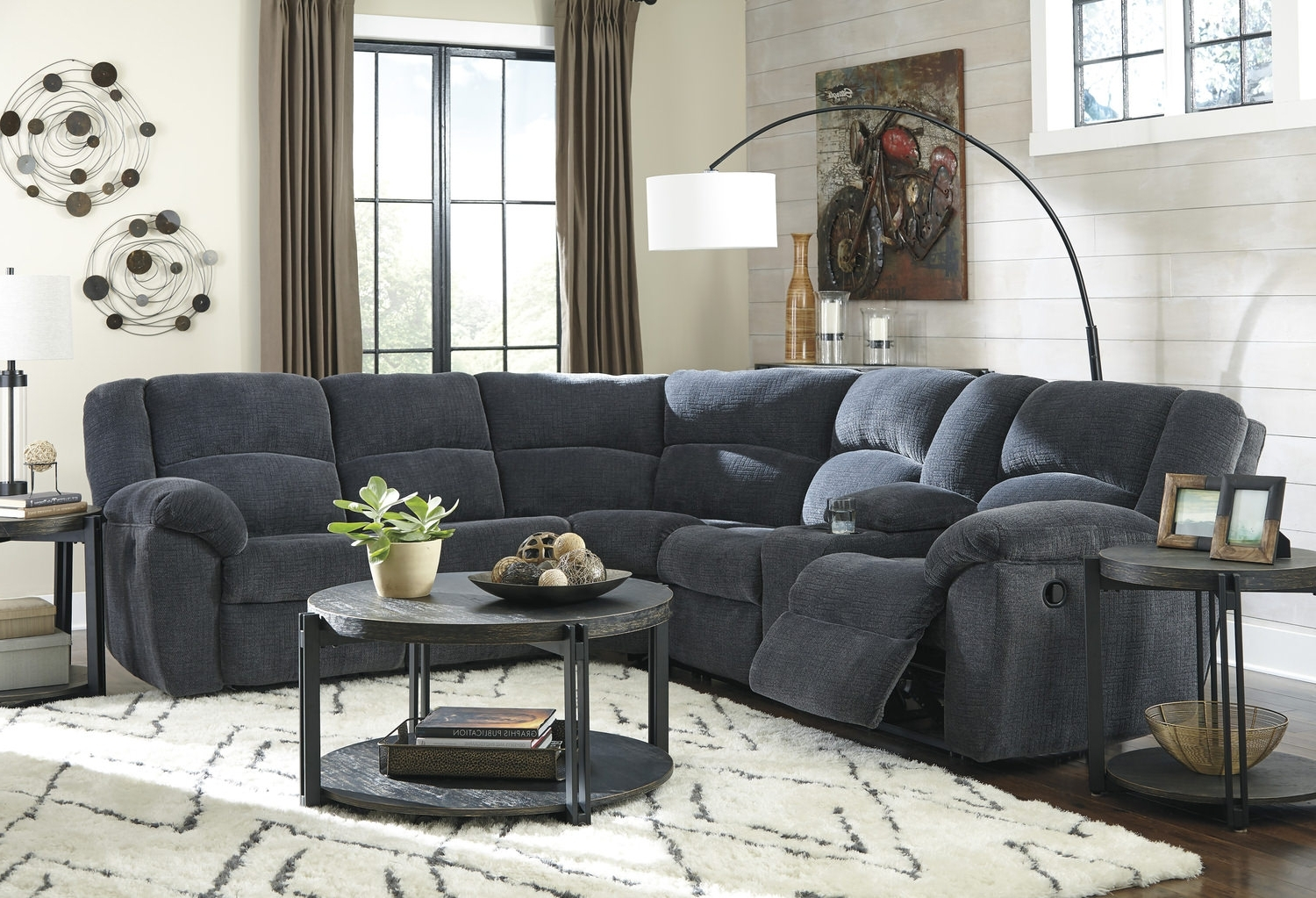 Texas 2 Piece Reclining Sectional (View 14 of 15)