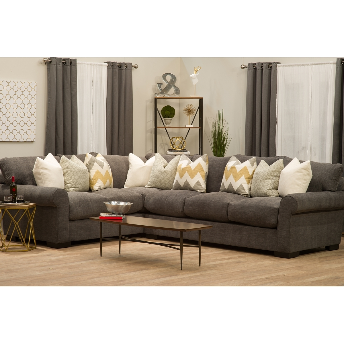The Bay Sectional Sofas Intended For Most Popular Lunada Bay 2Pc Sofa Sectional – Puritan Furniture Ct (View 13 of 15)