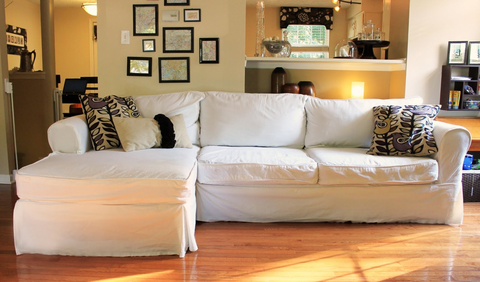 The Creative Imperative: Nasty Sofa? Slipcover It! Within Newest Slipcovered Sofas With Chaise (View 3 of 15)