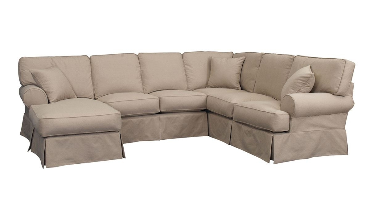 The Dump Sectional Sofas With Famous Malibu Luxury Linen Sectional Sofa With Chaise (View 14 of 15)
