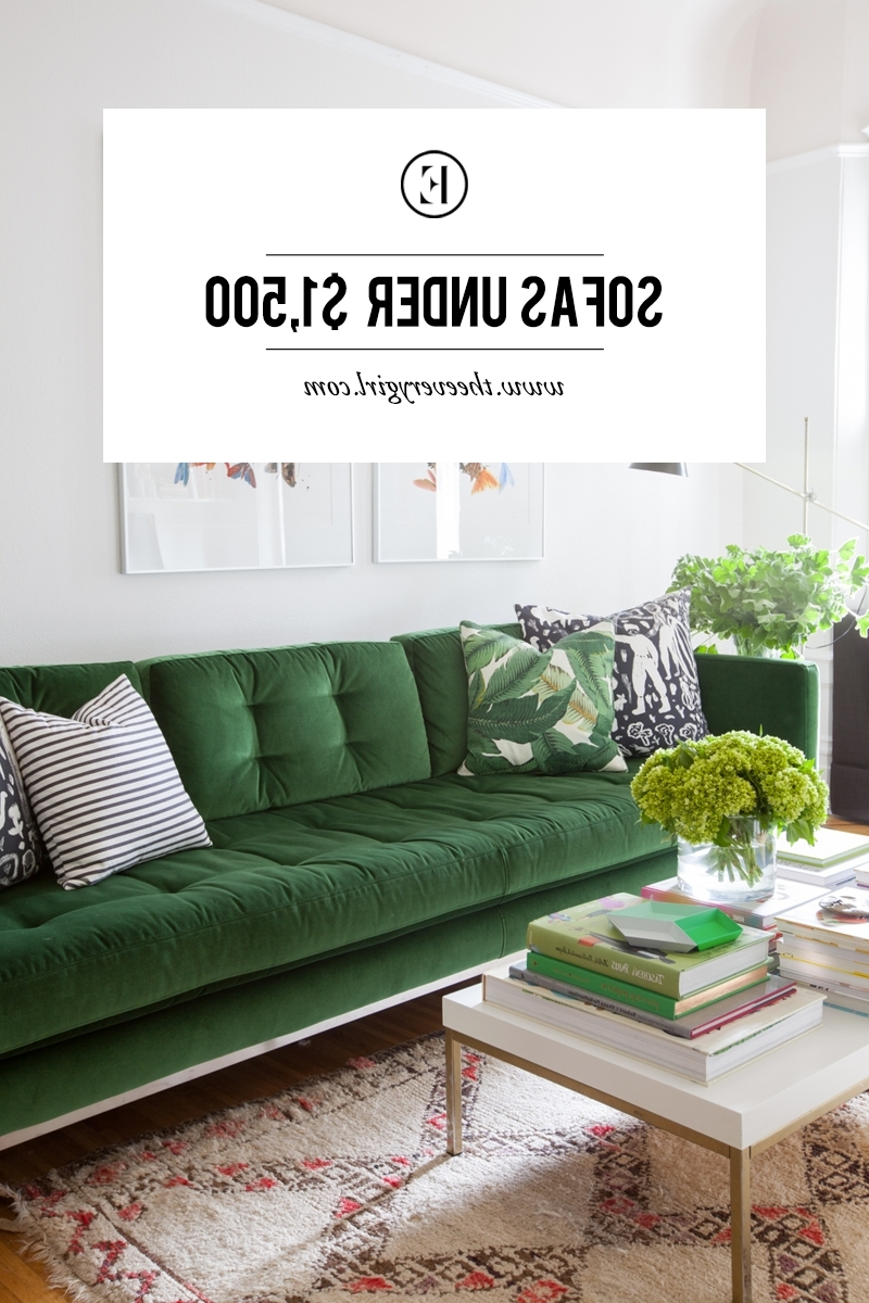 The Everygirl With Preferred Sectional Sofas Under  (View 12 of 15)