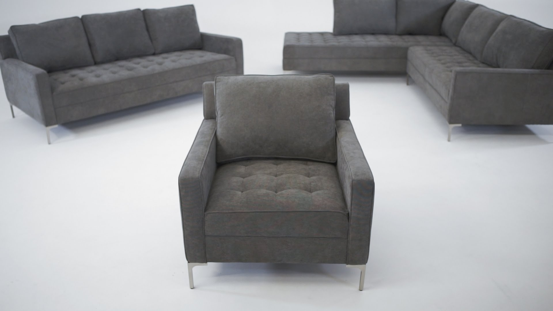 The Miami Collection – Structube – Youtube Throughout Popular Structube Sectional Sofas (View 4 of 15)