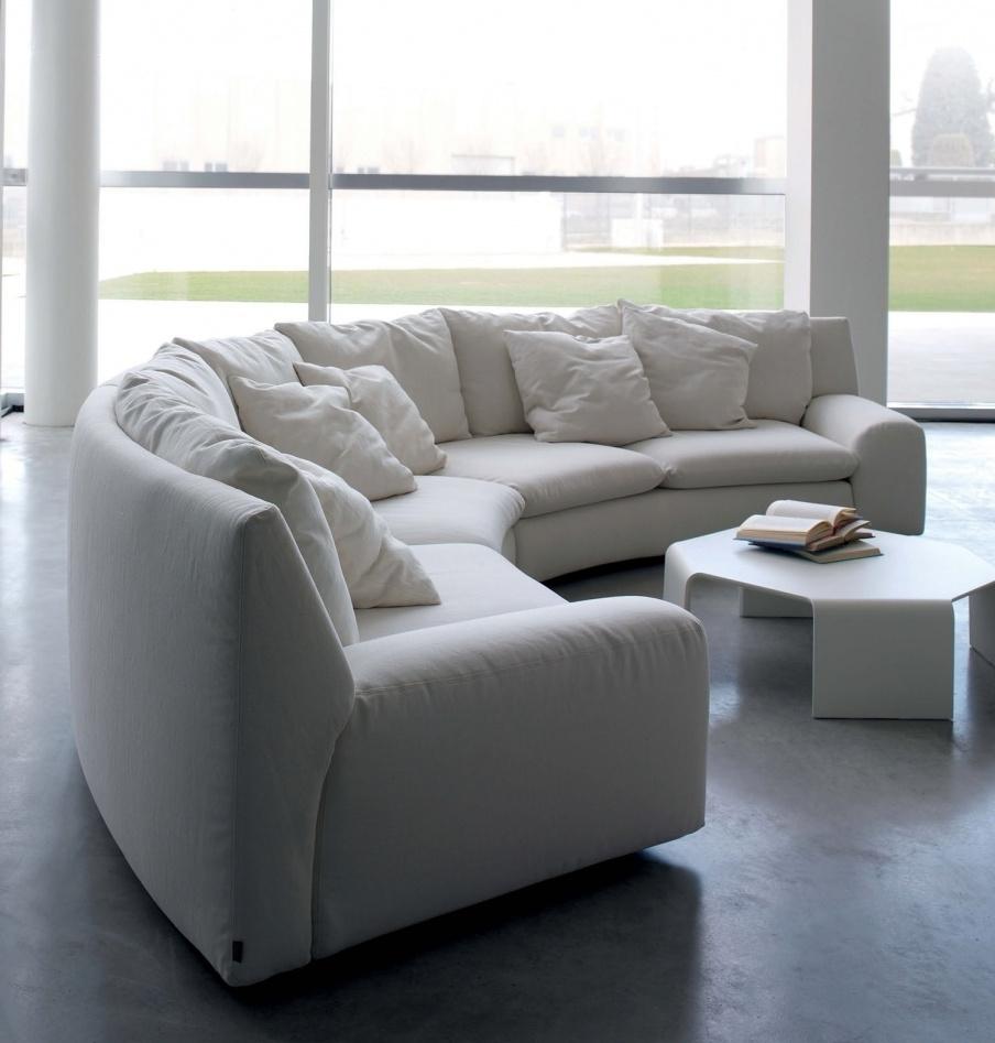 The Semicircular Sofa In Fabric Ben Ben, Arflex – Luxury Furniture Mr Within Trendy Semicircular Sofas (View 6 of 15)