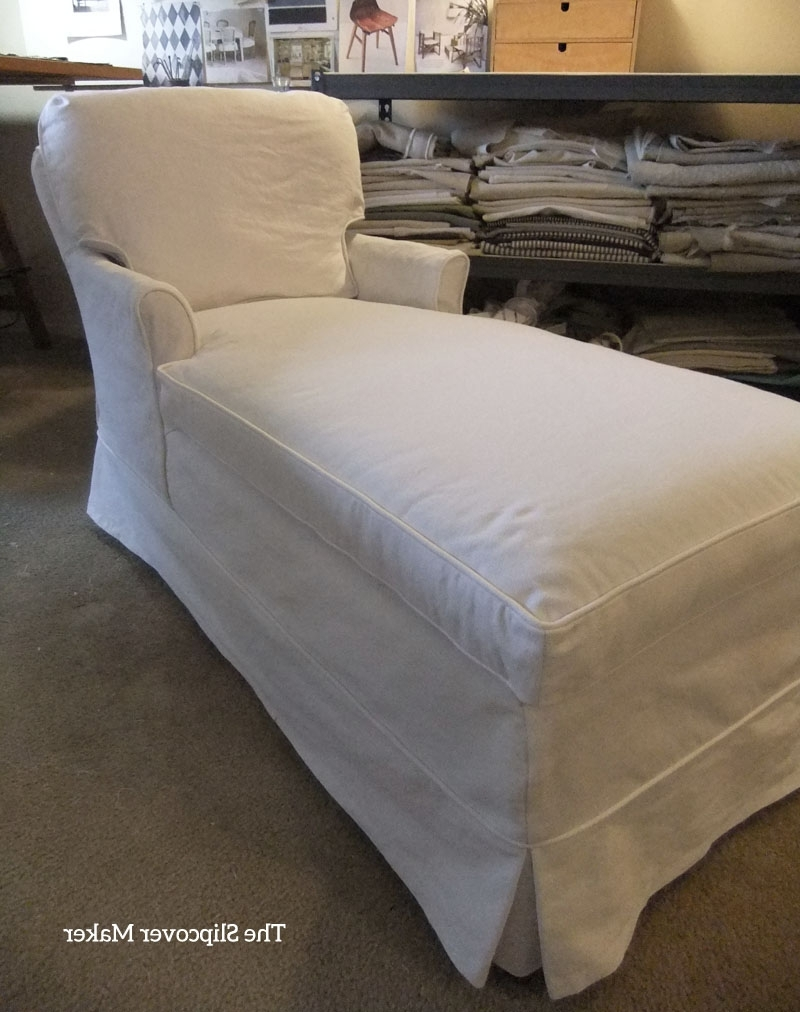The Slipcover Maker pertaining to Chaise Slipcovers