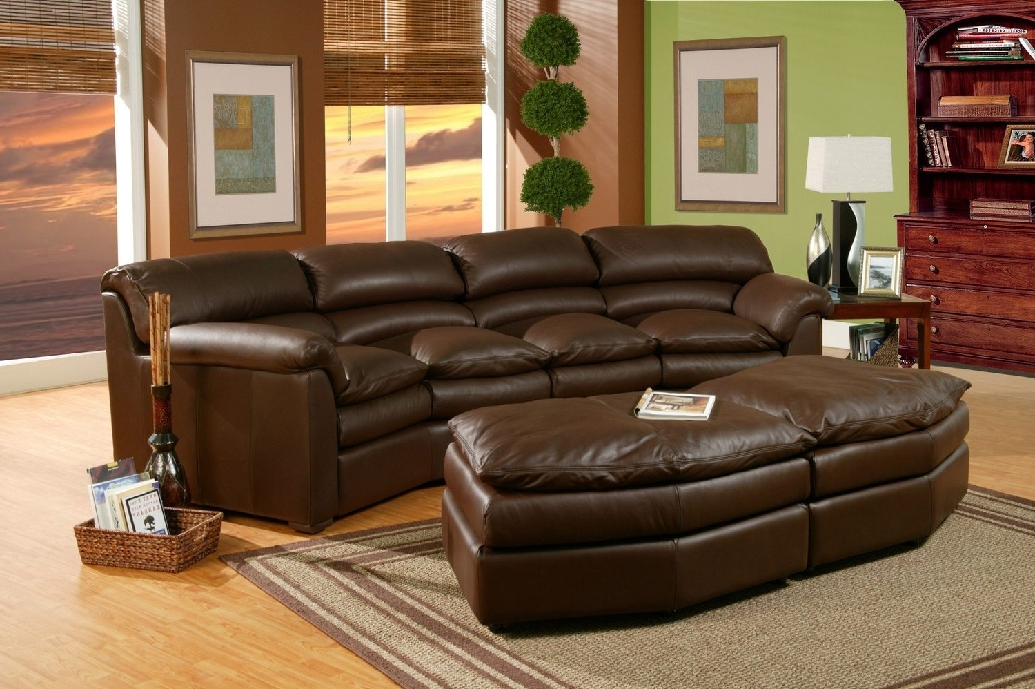Theatre Sectional Sofas For Well Known Home Theater Sectional Sofa – Visionexchange (View 12 of 15)