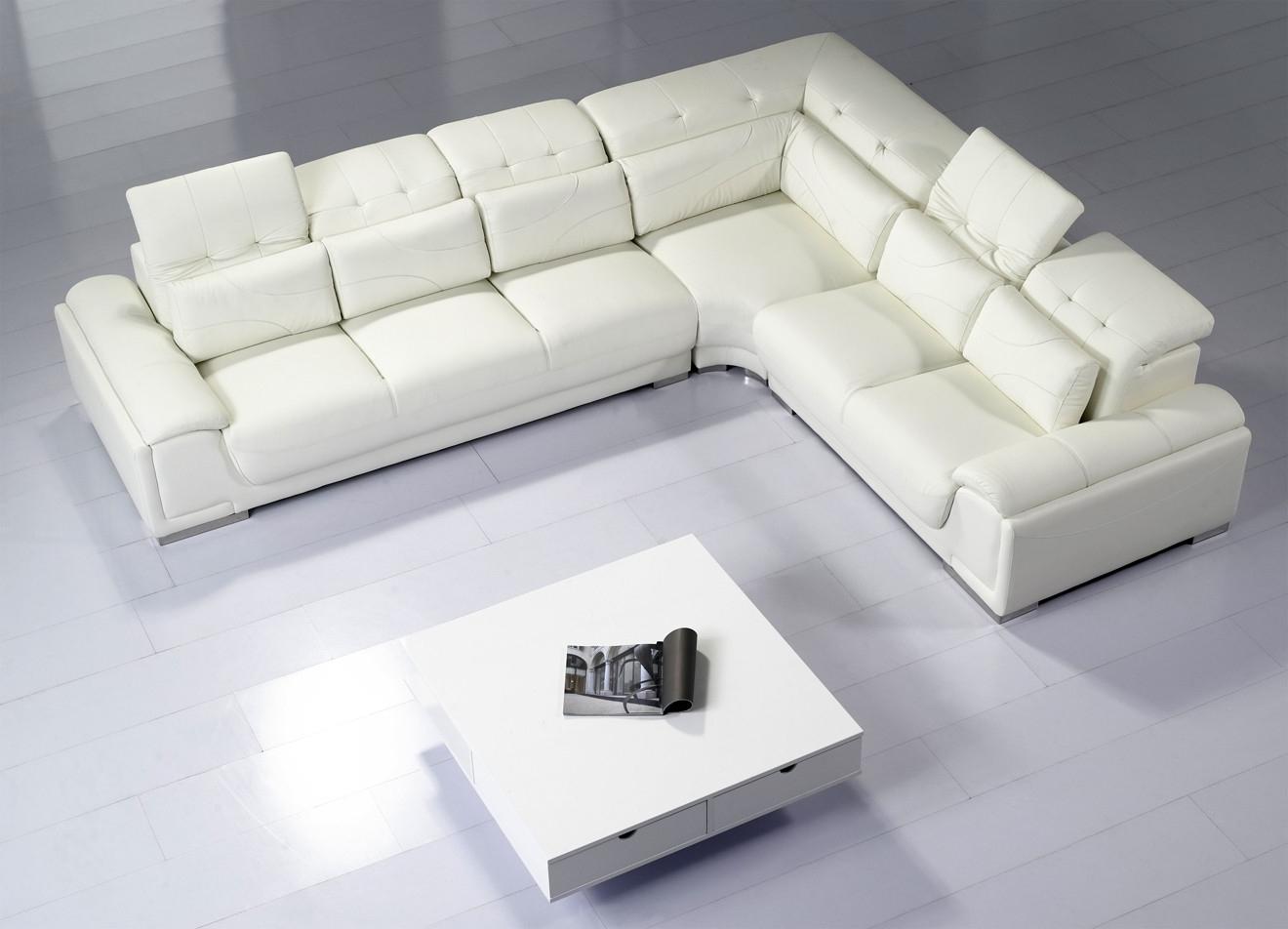 Thecreativescientist Pertaining To Trendy White Leather Corner Sofas (View 14 of 15)