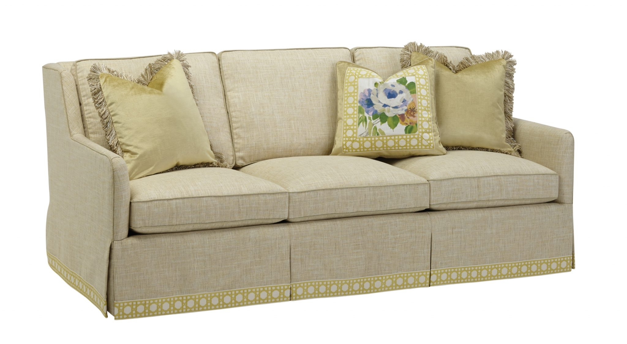 Three Cushion Sofas – Massoud Furniture Intended For Most Up To Date One Cushion Sofas (View 14 of 15)