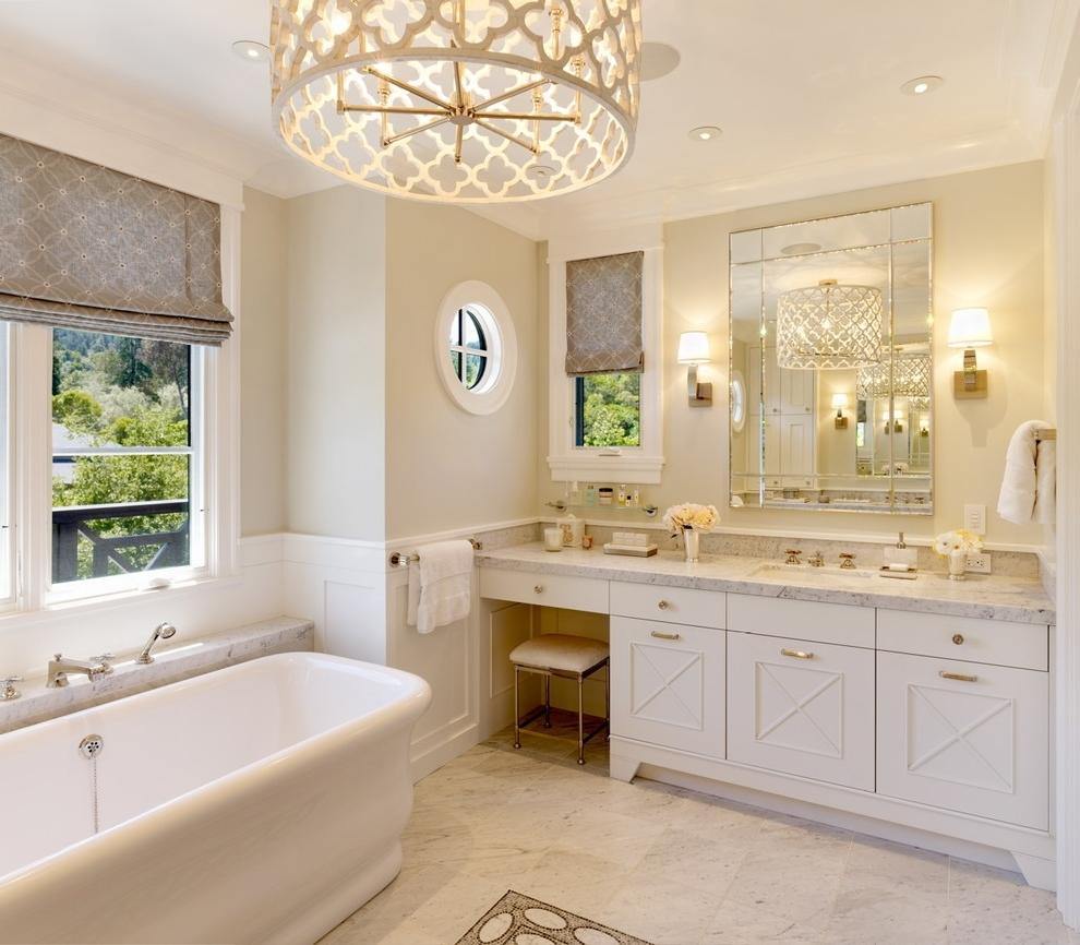 Top Home Designs Regarding Newest Bathroom Lighting Chandeliers (View 14 of 15)