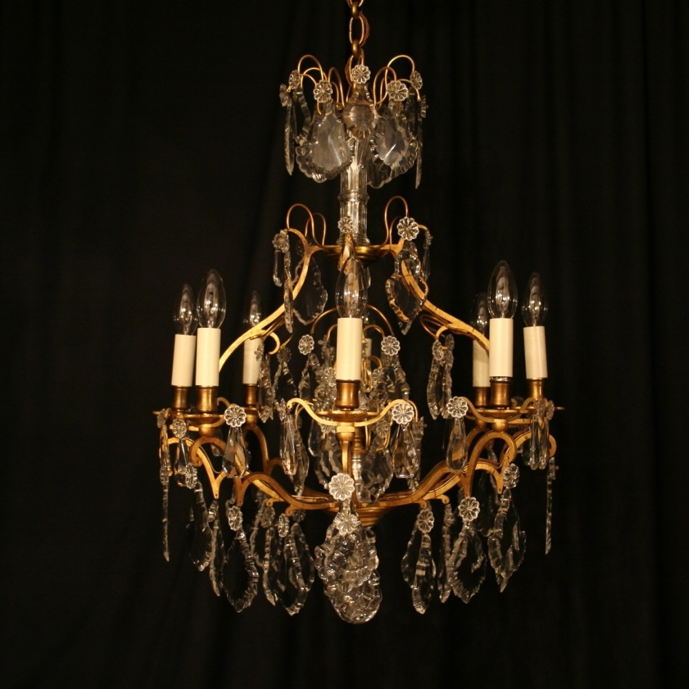 Transform Antique Chandeliers Also Home Decoration Ideas With For Current Antique Chandeliers (View 12 of 15)