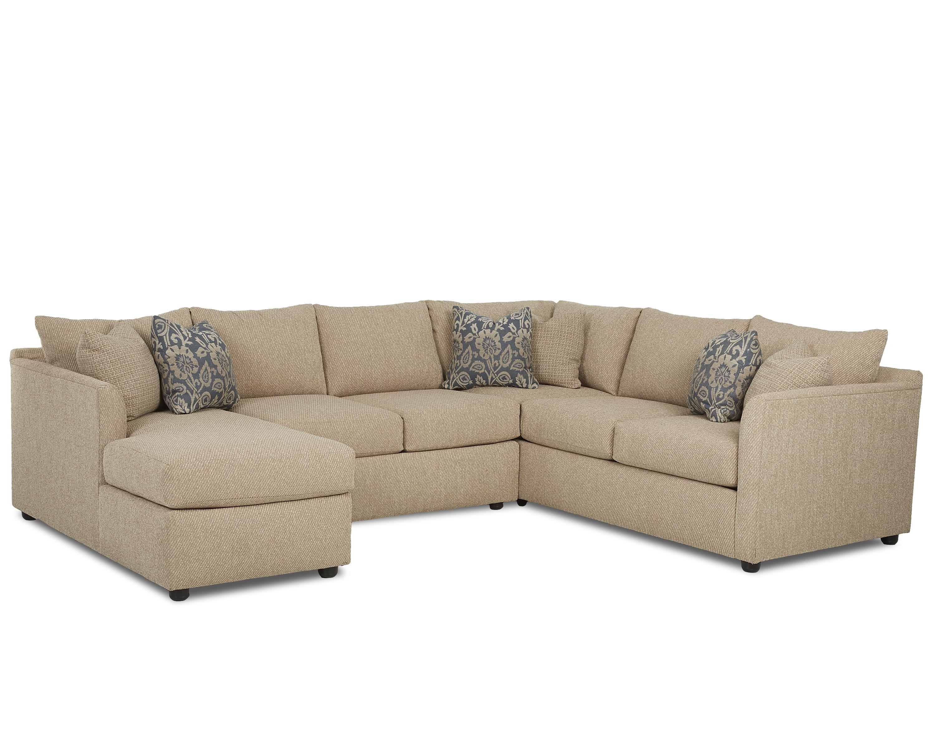Transitional Sectional Sofa With Chaisetrisha Yearwood Home Inside Preferred Sectional Sofas In Atlanta (View 10 of 15)