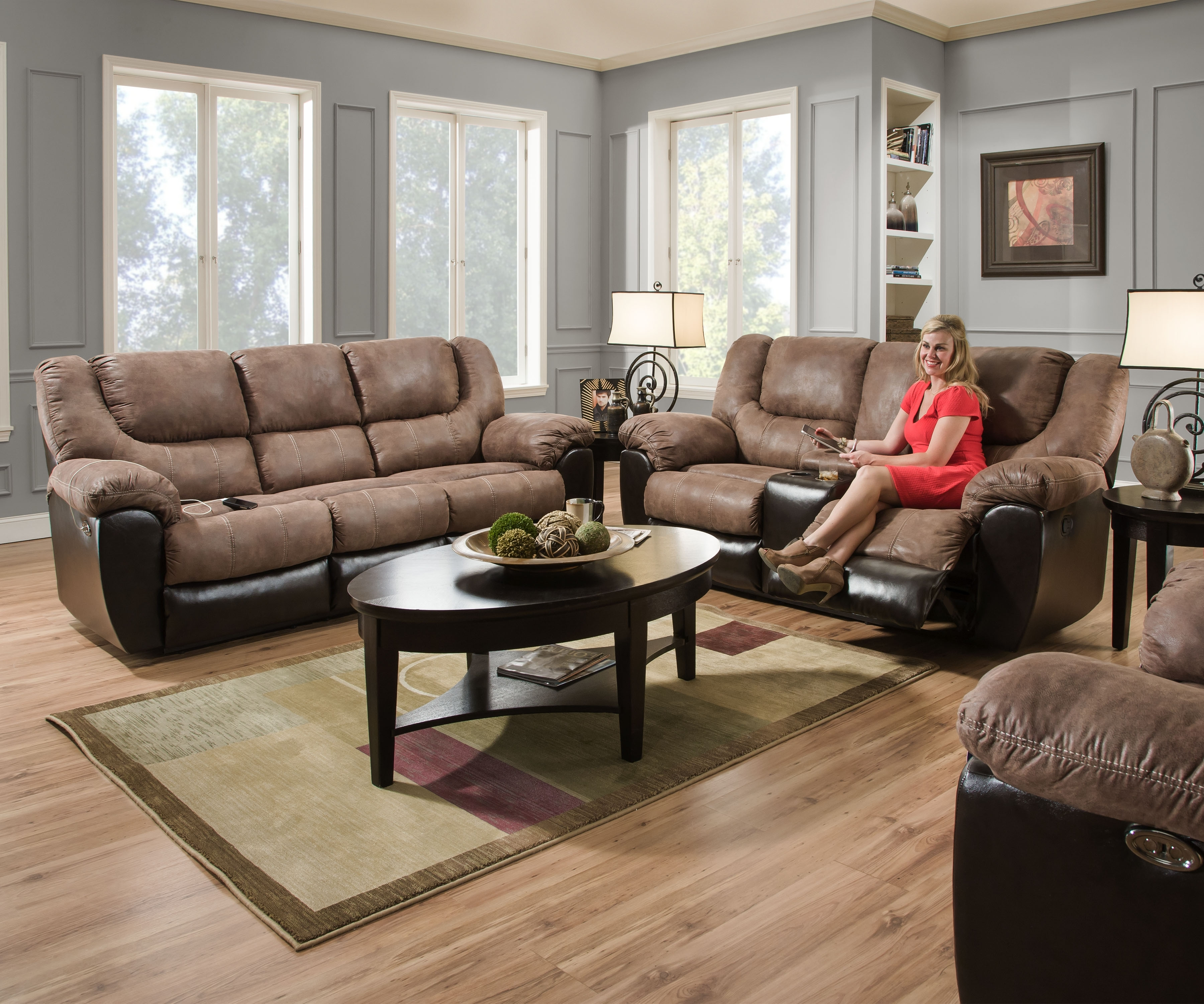 Trendy 50431 – United Furniture Industries Within Sofas And Loveseats (View 14 of 15)
