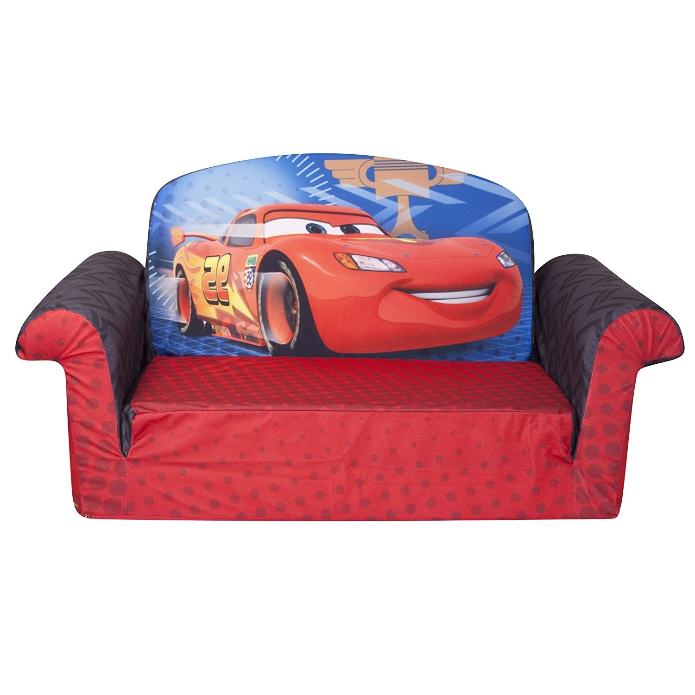 Trendy Amazon: Marshmallow Furniture, Children's 2 In 1 Flip Open Inside Disney Sofa Chairs (View 11 of 15)