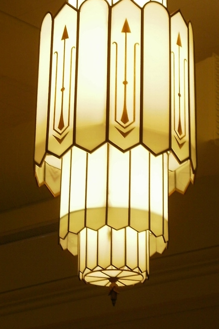 Trendy Art Deco Chandeliers Intended For Art Deco Chandelier Luxury On Home Decoration Ideas With Art Deco (View 13 of 15)