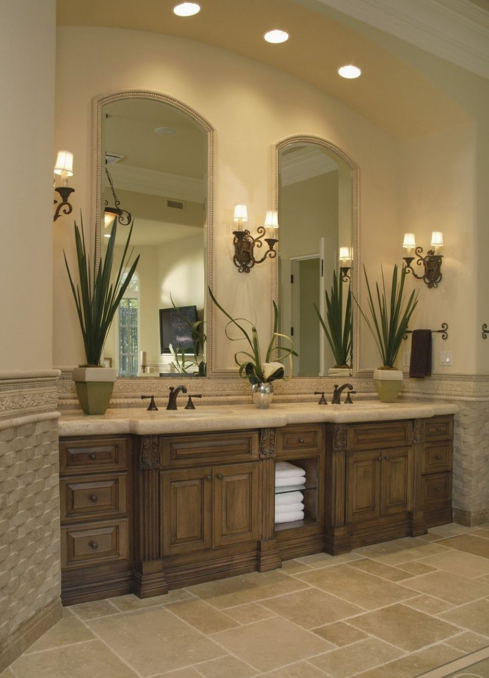 Trendy Bathroom Chandelier Wall Lights Intended For Bathroom Vanity Lights Ikea Lighting Light Bar Home Depot Canadian (View 13 of 15)